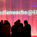 Lightinstallation Medienwoche